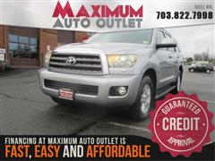 2010 TOYOTA SEQUOIA SR5 4WD - LEATHER
