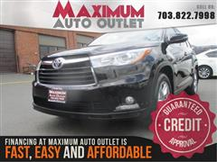 2014 TOYOTA HIGHLANDER LIMITED V6 AWD W 3RD ROW SEAT