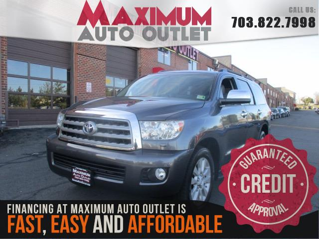 2011 toyota sequoia limited 4wd manassas park virginia maximum auto outlet va 20111. Black Bedroom Furniture Sets. Home Design Ideas