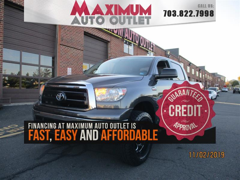 2011 TOYOTA TUNDRA 4WD TRUCK Double Cab 4WD 6 Passenger