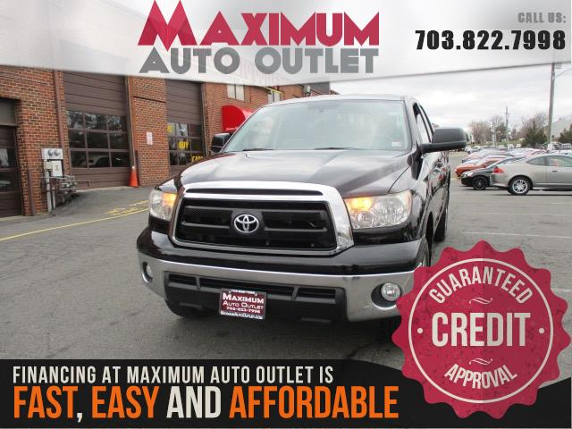 2012 TOYOTA TUNDRA 4WD TRUCK Double Cab 4WD 6 Passenger