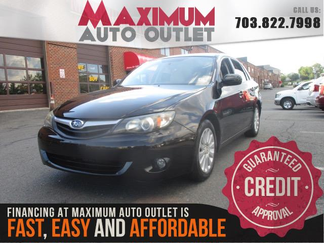 2010 subaru impreza sedan i premium manassas park virginia maximum auto outlet va 20111. Black Bedroom Furniture Sets. Home Design Ideas