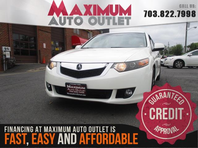 2010 ACURA TSX V6 with Navigation