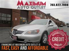 2005 ACURA RL SH-AWD WITH NAVIGATION