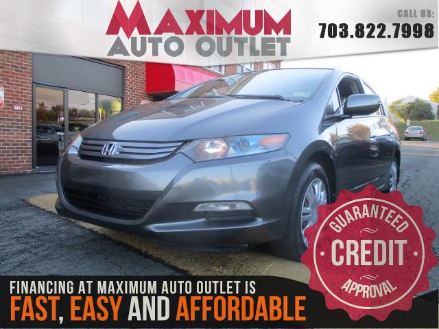 2010 honda insight lx manassas park virginia maximum auto outlet va 20111. Black Bedroom Furniture Sets. Home Design Ideas