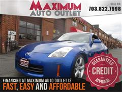 2007 nissan 350z touring manassas park virginia maximum auto outlet va 20111. Black Bedroom Furniture Sets. Home Design Ideas