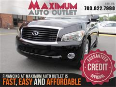 2011 INFINITI QX56 Navigation & Back-up Camera