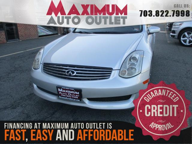 2007 INFINITI G35 COUPE Sport Pkg w/ 6 Speed Manual