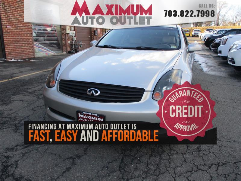 2005 INFINITI G35 6-Speed Manual