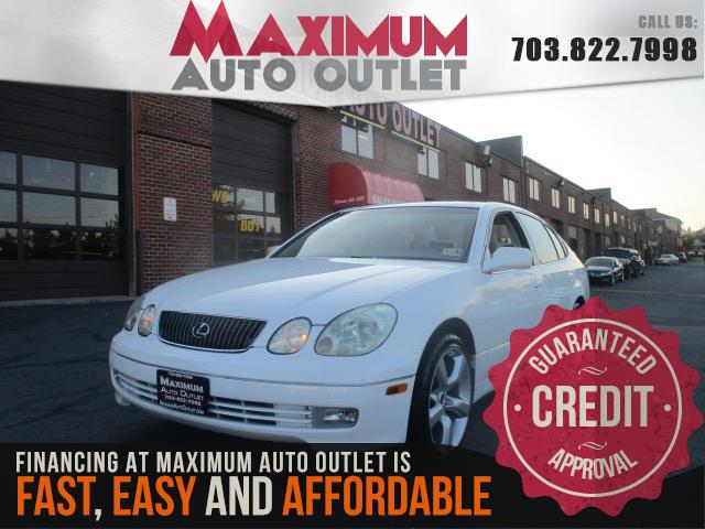 2004 lexus gs 300 manassas park virginia maximum auto outlet va 20111. Black Bedroom Furniture Sets. Home Design Ideas