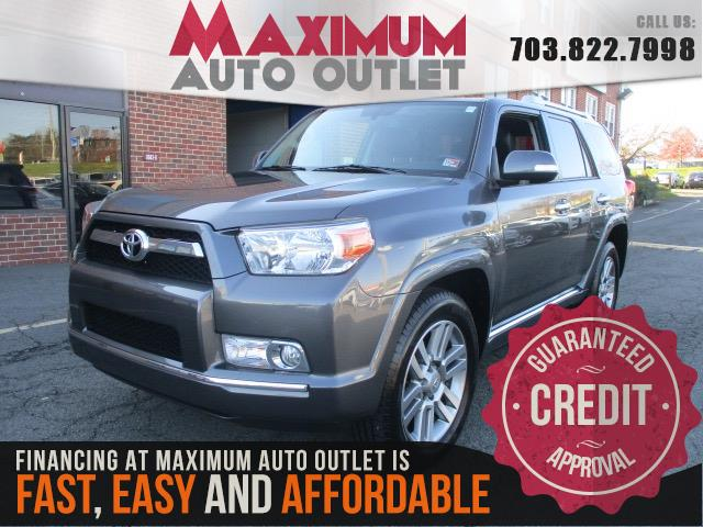 2013 TOYOTA 4RUNNER LIMITED 4WD WITH 3RD ROW AND NAVIGATION SYSTEM