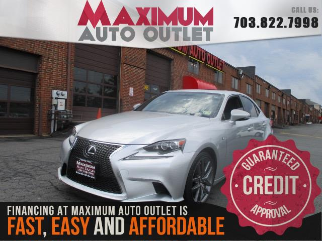 2015 lexus is 250 f sport manassas park virginia maximum auto outlet va 20111. Black Bedroom Furniture Sets. Home Design Ideas