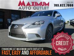 2014 LEXUS IS 250 F Sport w/Backup Camera