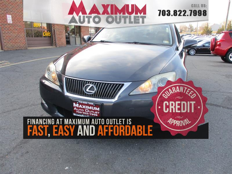 2010 LEXUS IS 250 AWD - NAVIGATION