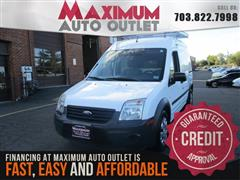 2012 FORD TRANSIT CONNECT XL CARGO VAN