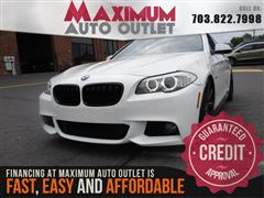 2011 BMW 5 SERIES 550i M SPORT