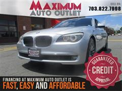 2011 BMW 7 SERIES 740i Sport Package