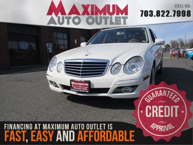 2008 MERCEDES-BENZ E-CLASS E350 4Matic - Sport Package