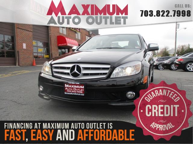 2008 MERCEDES-BENZ C-CLASS C350 Sport Package Sedan