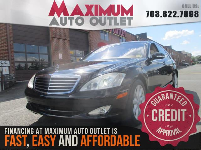 2007 mercedes benz s class s550 manassas park virginia maximum auto outlet va 20111. Black Bedroom Furniture Sets. Home Design Ideas