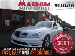 2010 MERCEDES-BENZ S-CLASS S550 AMG Sport Package