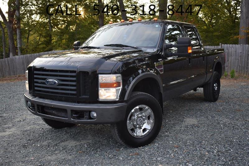 2008 FORD SUPER DUTY F-350 SRW FX4