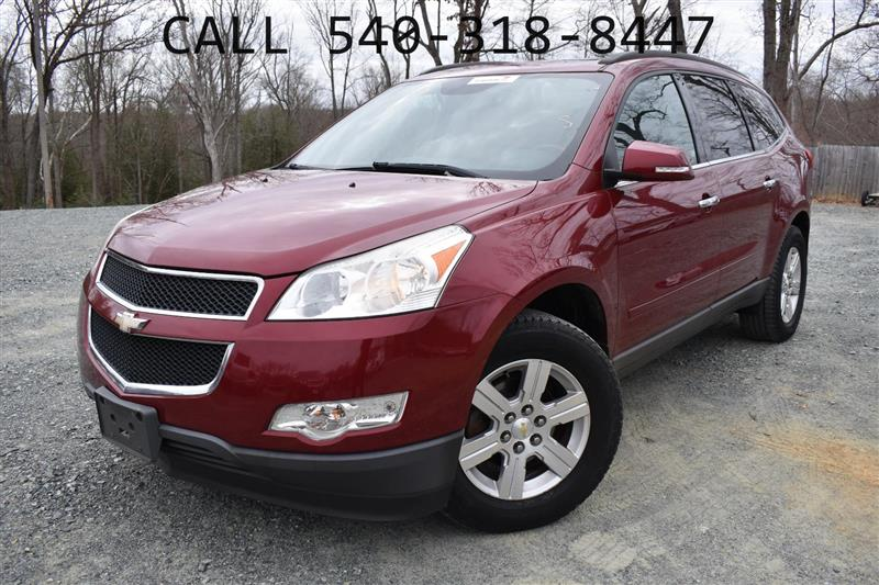 2011 CHEVROLET TRAVERSE LTZ Navigation