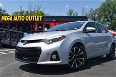 2015 TOYOTA COROLLA S WITH NAVIGATION AND SUNROOF