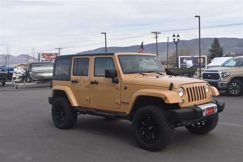 2014 JEEP WRANGLER UNLIMITED Sahara Wrangler Unlimited