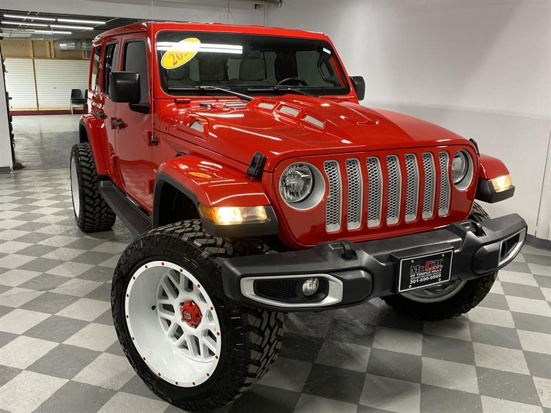 2020 JEEP WRANGLER UNLIMITED 4WD 4dr Sahara