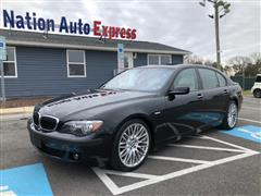 2008 BMW 7 SERIES 750Li / NAVIGATION / LOW MILES