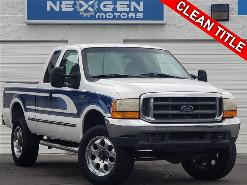 1999 FORD SUPER DUTY F-250 XLT Extended Cab