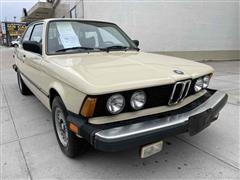 1980 BMW 320
