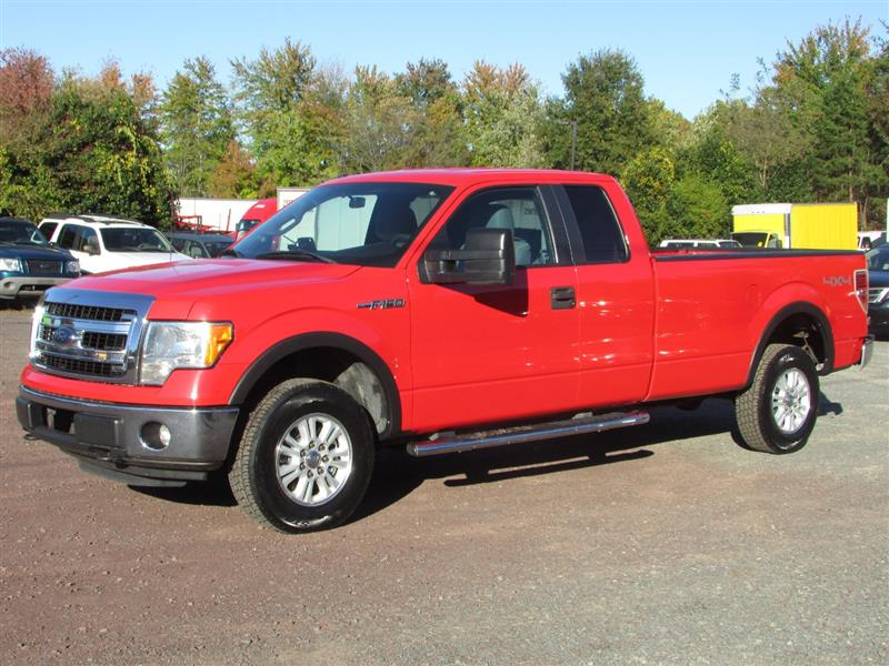 2013 FORD F-150 w/HD Payload Pkg