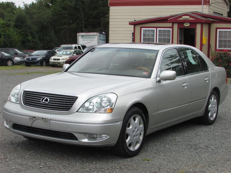 2002 LEXUS LS 430 Premium
