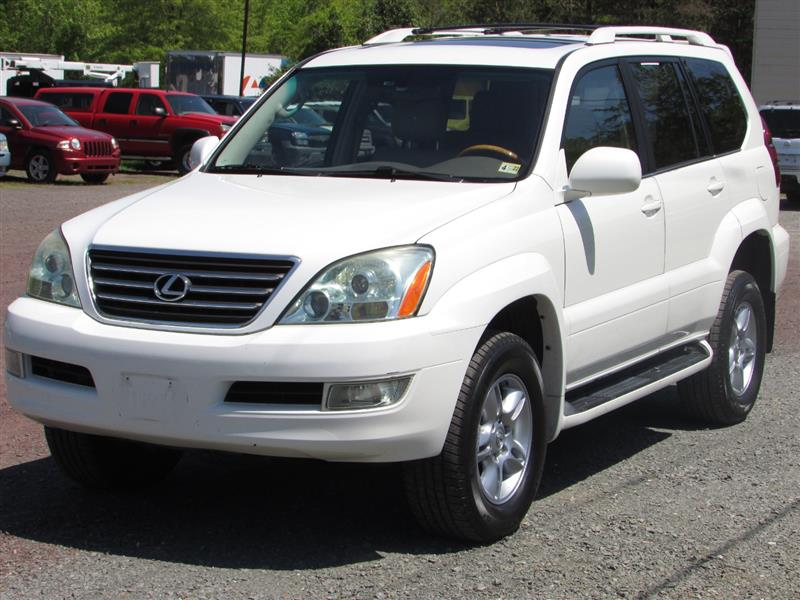 2006 LEXUS GX 470 4WD NAVIGATION WITH 3RD ROW