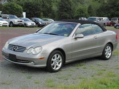 2004 MERCEDES-BENZ CLK-CLASS Cabriolet 3.2L