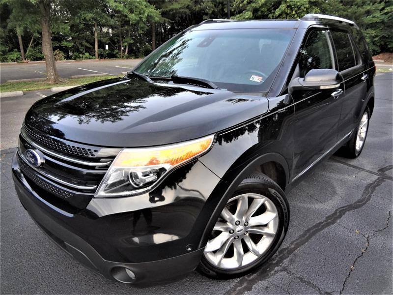 2013 FORD EXPLORER LIMITED 4WD/ DVD PLAYER