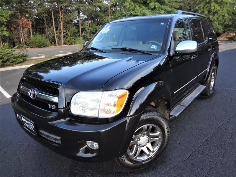 2007 TOYOTA SEQUOIA LIMITED 4WD NAVIGATION/ REAR ENTERTAINMENT PKG
