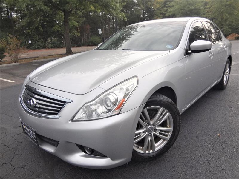 2011 INFINITI G37 SEDAN X AWD with Navigation