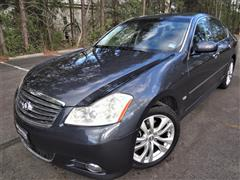 2008 INFINITI M35X With Navigation