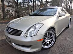 2006 INFINITI G35 COUPE Sport Pkg w/ 6 Speed Manual
