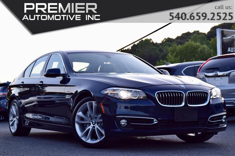 2016 BMW 5 SERIES 535i xDrive Luxury Line