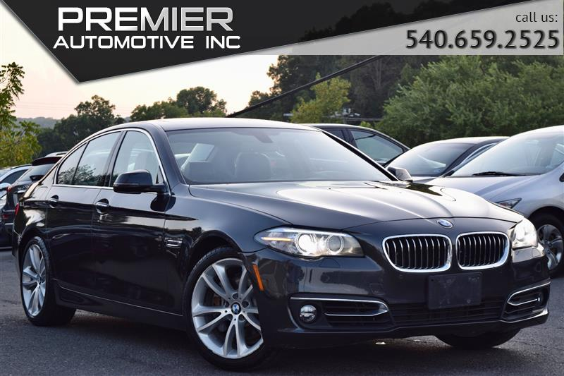 2016 BMW 5 SERIES 535i xDrive Luxury Line