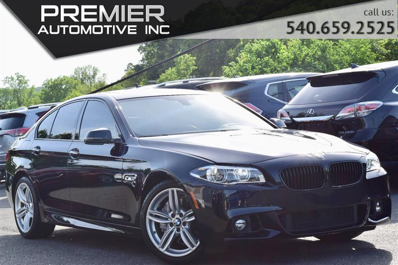 2016 BMW 5 SERIES 550i xDrive M SPORT
