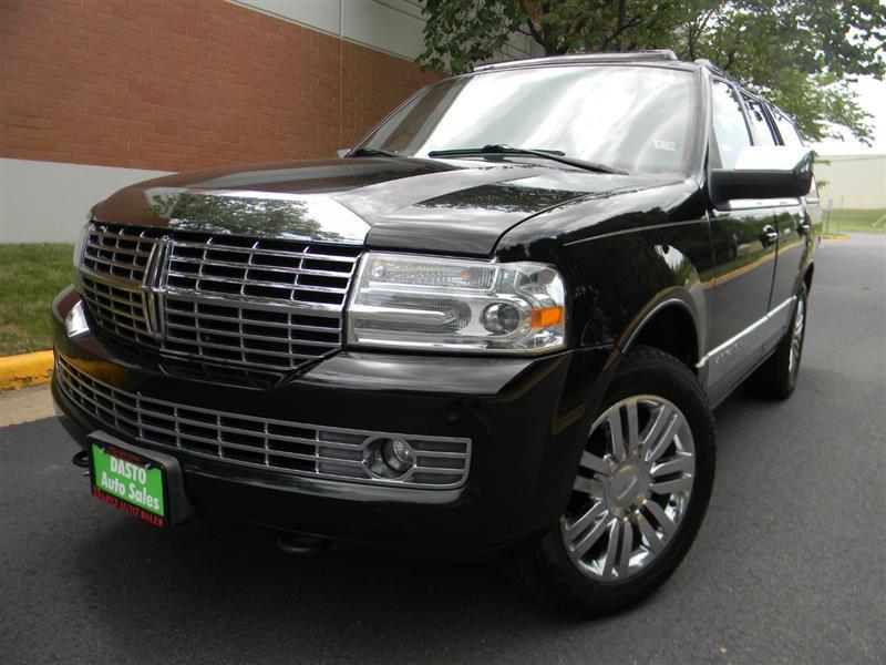 2008 LINCOLN NAVIGATOR 4WD WITH ELLITE PACKAGE NAVIGATION DVDs MOONROOF