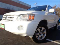 2005 TOYOTA HIGHLANDER LIMITED V6 AWD W 3RD ROW SEAT