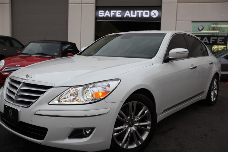 2009 HYUNDAI GENESIS 4.6L NAVIGATION & BACK UP CAMERA