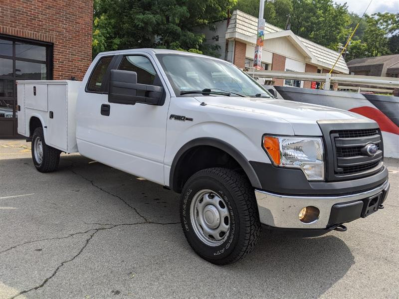 2014 FORD F-150 HD Payload Package--8' Utility Body!