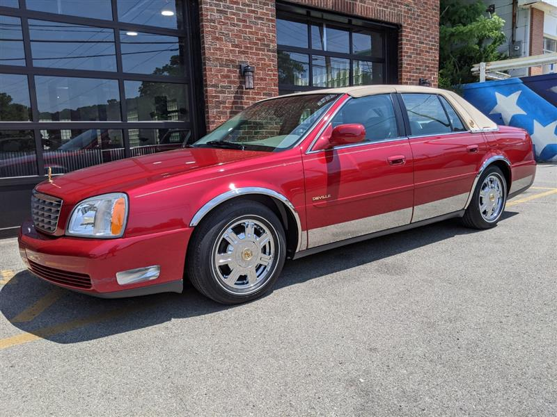 2003 CADILLAC DEVILLE 14,000 Mile--1 Owner--Texas Car--Remarkable Example